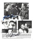 """1999 Movie """"THE OTHER SISTER"""" Signed by JULIETTE LEWIS as CARLA, GIOVANNI RIBISI as DANNY, DIANE KEATON as ELIZABETH and TOM SKERRITT as RADLEY - 10x8 B/W Photo"""