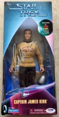 1999 William Shatner Signed Star Trek Captain Kirk Collectors Figure PSA/DNA COA