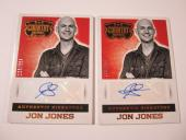 (2) 2014 Panini Country Music Jon Jones Autograph Trading Card #S-JOJ #'d /394