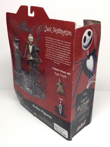 Chris Sarandon Signed Nightmare Before Christmas Jack Action Figure Beckett