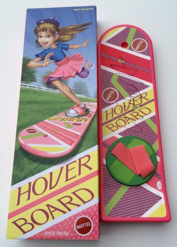 Michael J. Fox Signed Back To The Future Ii Mattel Hoverboard Jsa Loa Y61562