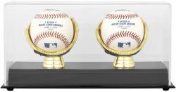 Gold Glove Double Baseball Display Case