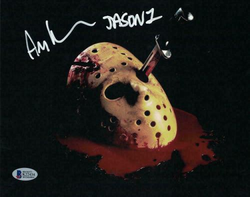 Ari Lehman Autographed/Signed Friday The 13th 8x10 Photo BAS 23742