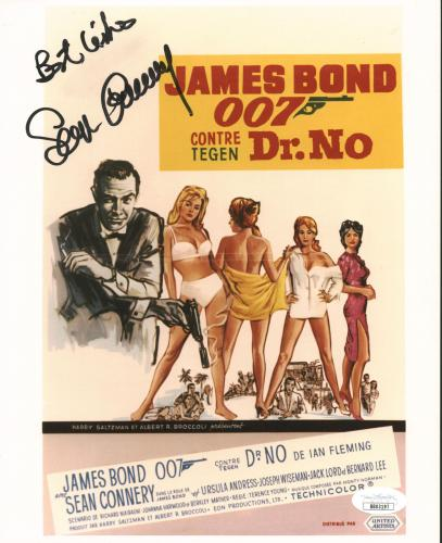 Sean Connery James Bond 007 Signed 8x10 Photo Autographed JSA #BB03197