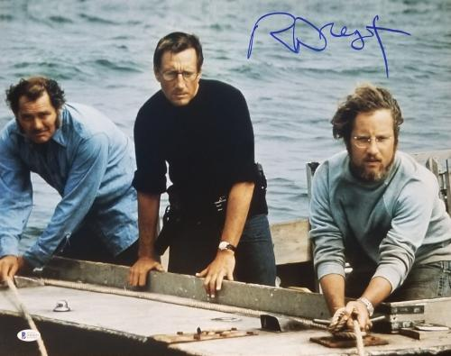 RICHARD DREYFUSS Signed JAWS 16x20 Poster Photo MATT HOOPER BAS COA AUTOGRAPH