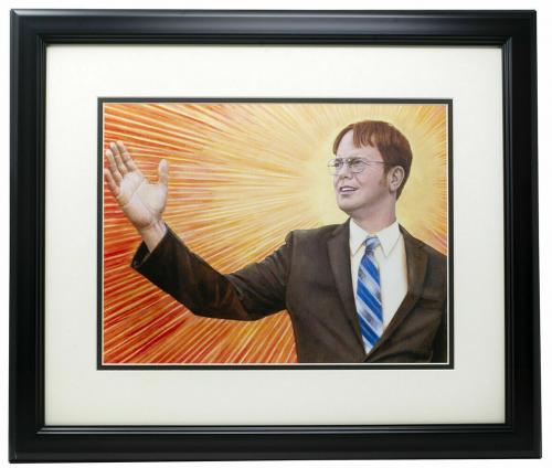 Dwight Dunder Mifflin The Office Regional Manager Framed 11x17 Photo