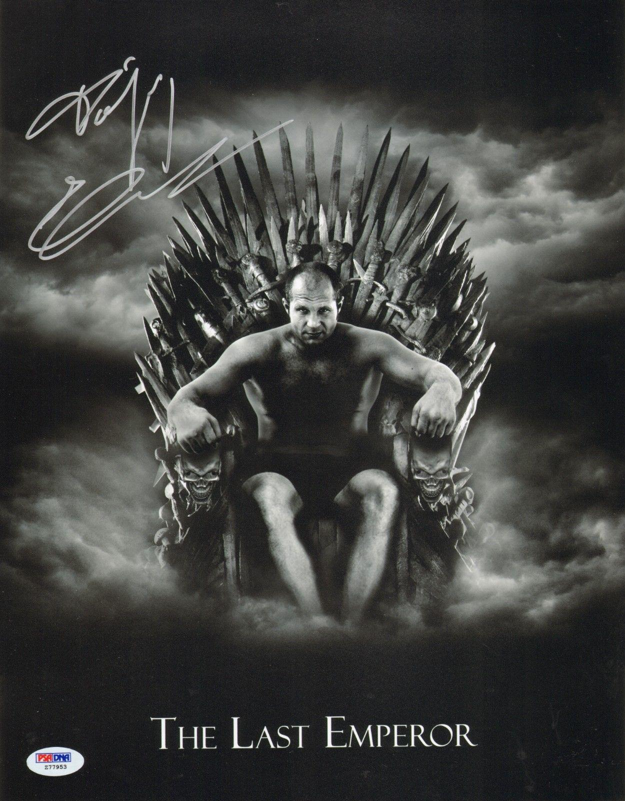 Fedor Emelianenko Signed 11x14 Photo PSA/DNA COA Game of Thrones UFC Pride Auto