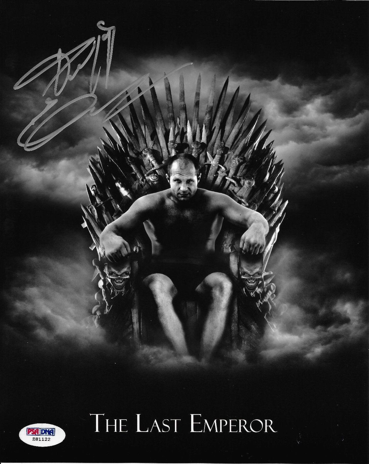 Fedor Emelianenko Signed 8x10 Photo PSA/DNA COA Game of Thrones Picture Pride FC