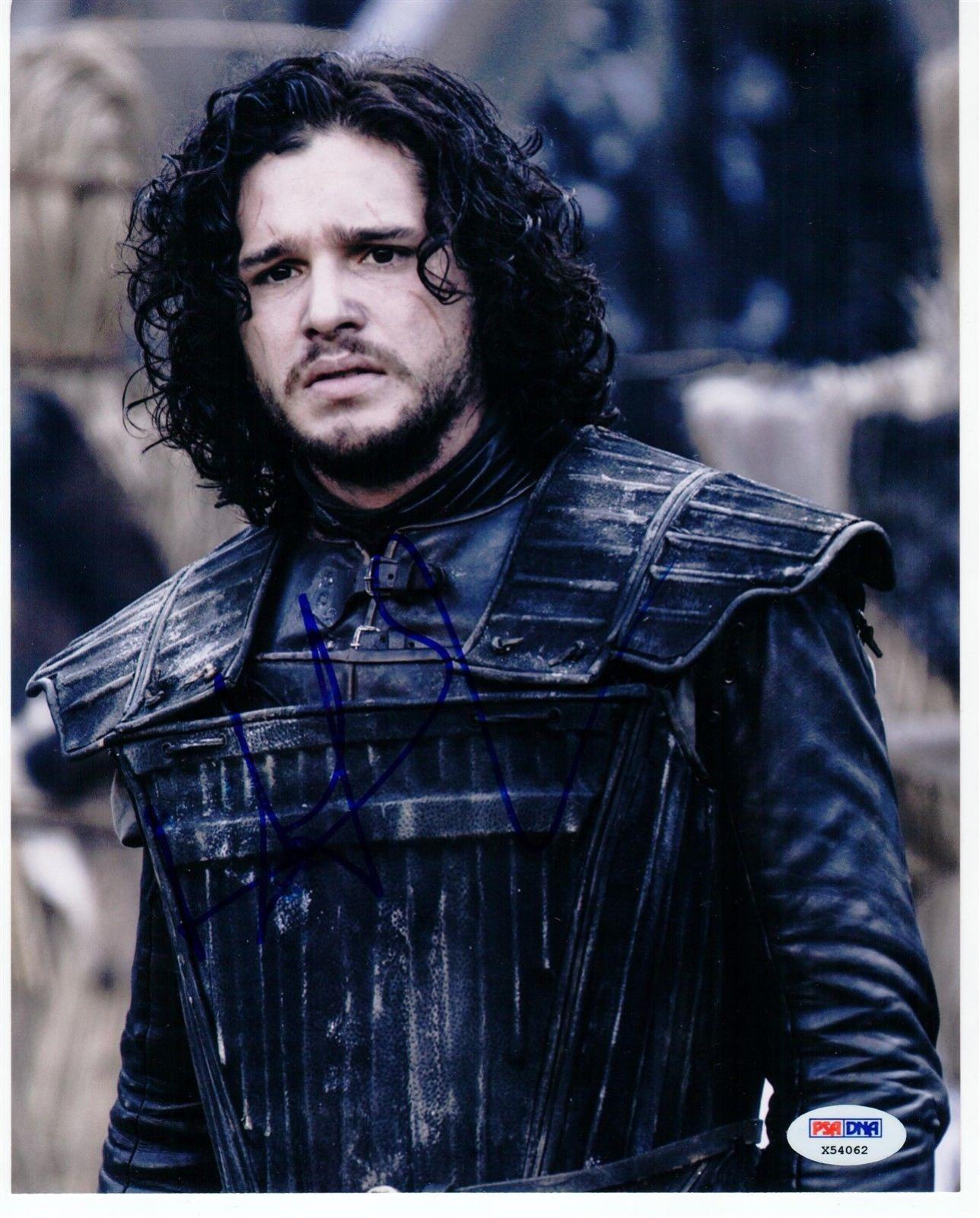Kit Harington signed 8x10 photo Jon Snow PSA/DNA Game of Thrones