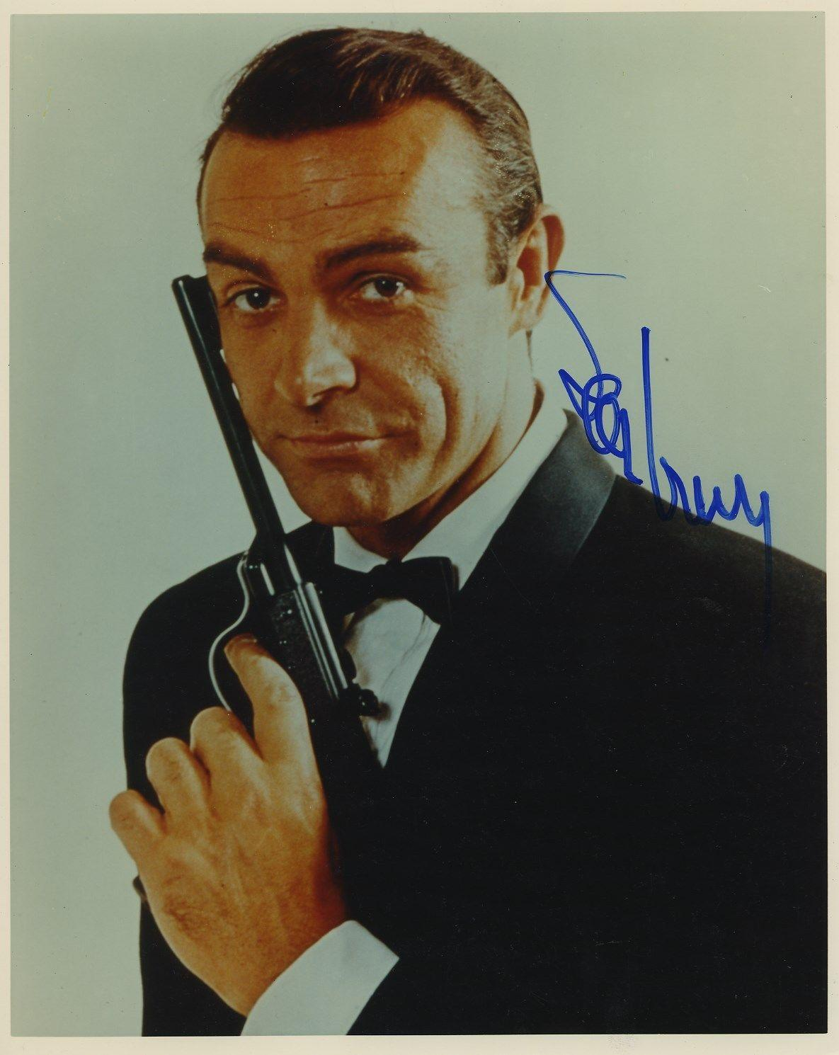 Sean Connery 007 James Bond Signed Autographed Color Photo Jsa Coa Rare!!