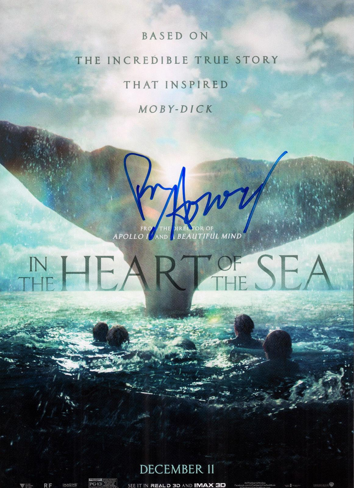 Ron Howard Signed 12x18 Poster w/COA Authentic In The Heart of the Sea #2