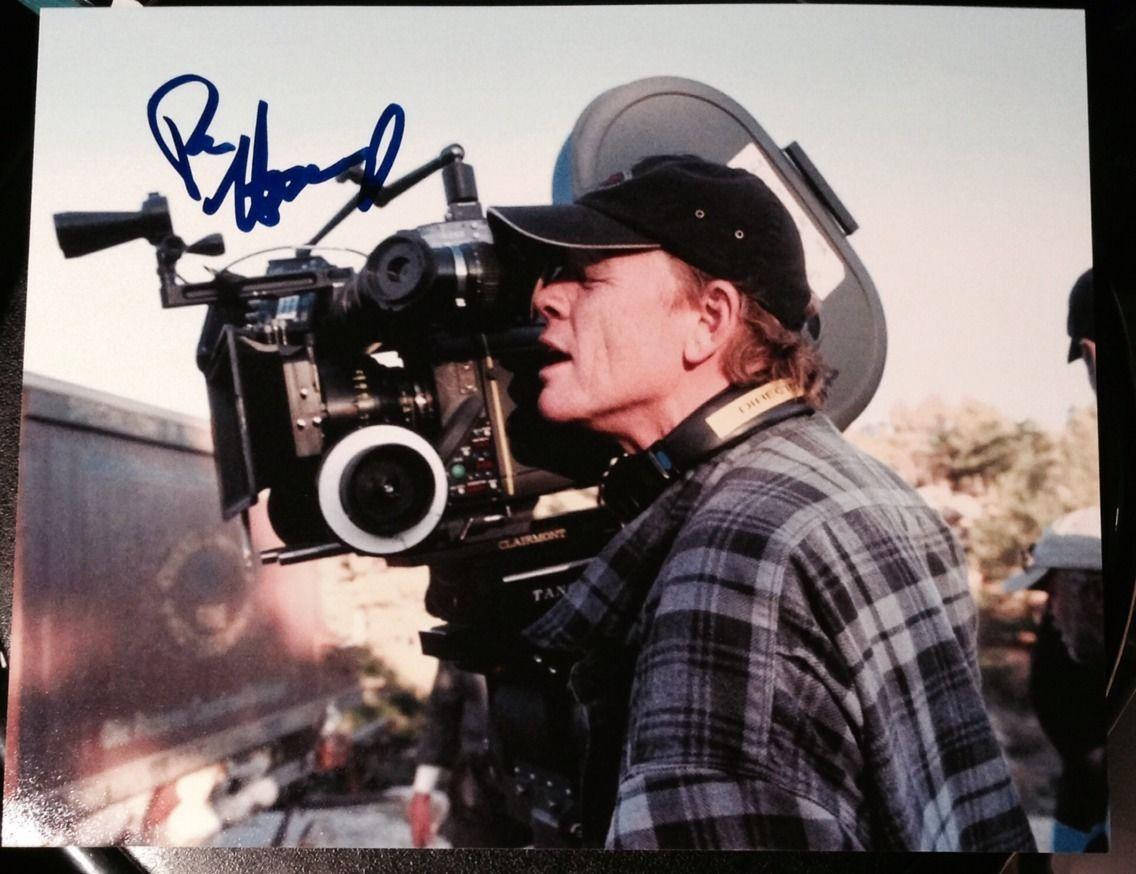 RON HOWARD SIGNED RARE AUTOGRAPH CLASSIC DIRECTOR LEGEND POSE 8x10 PHOTO COA
