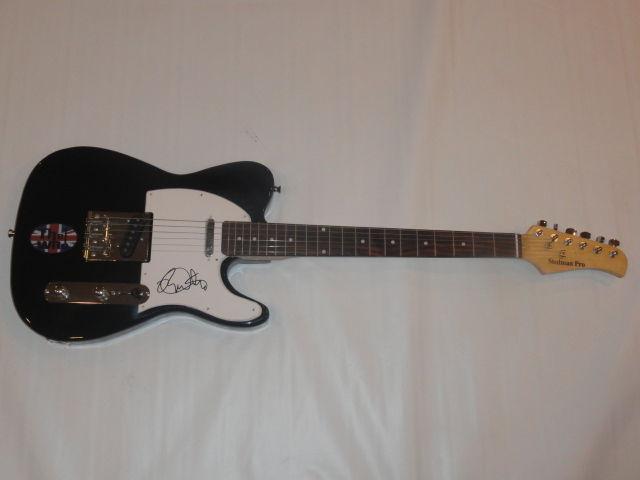 Roger Daltrey Signed Electric Guitar The Who Legend Proof Autographed Jsa Loa