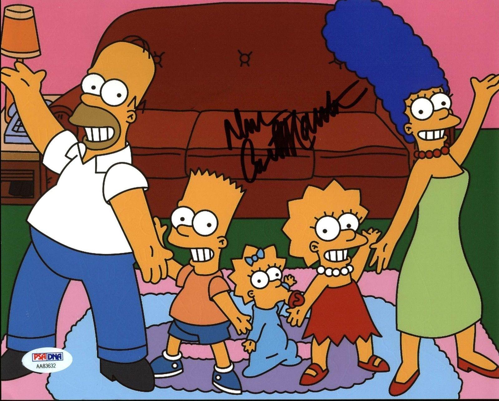 Dan Castellaneta The Simpsons Signed 8X10 Photo PSA/DNA #AA83632