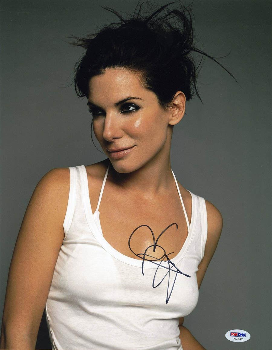 Sandra Bullock SIGNED 11x14 Photo Dr. Ryan Stone Gravity HOT PSA/DNA AUTOGRAPHED