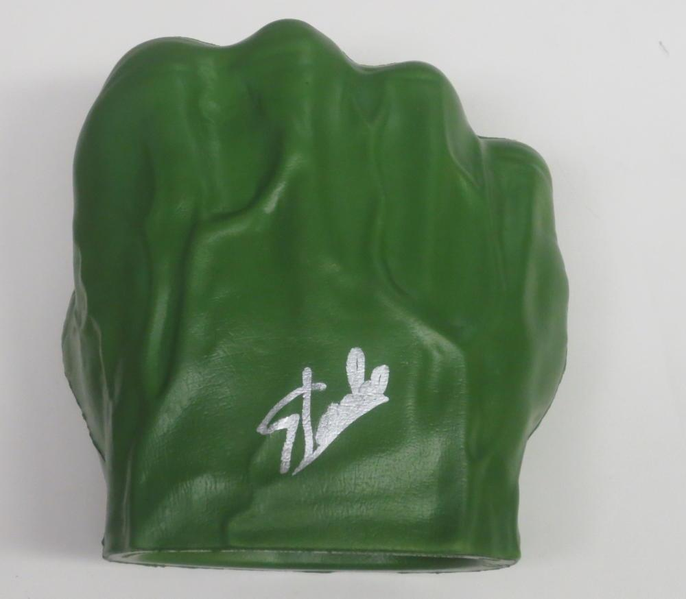 Stan Lee Signed Hulk Fist Marvel Autograph Excelsior Hologram Exact Proof Coa