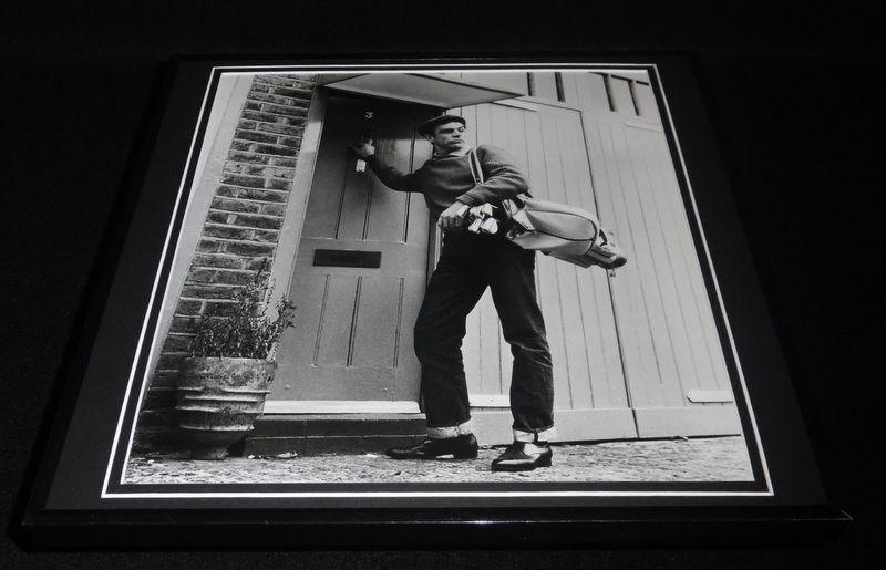 Sean Connery Golfing 1962 Framed 12x12 Photo Poster