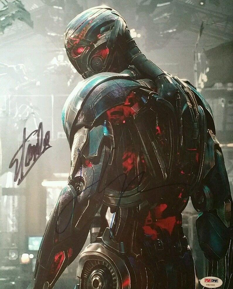 James Spader ULTRON Stan Lee Marvel Signed Autographed AVENGERS Photo PSA/DNA