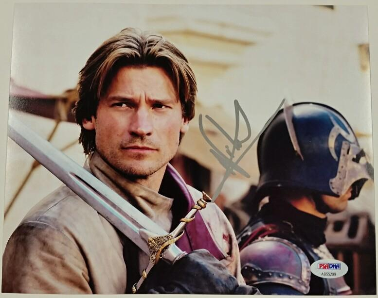 NIKOLAJ COSTER-WALDAU Signed 8x10 Photo Game Of Thrones AUTO PSA/DNA COA