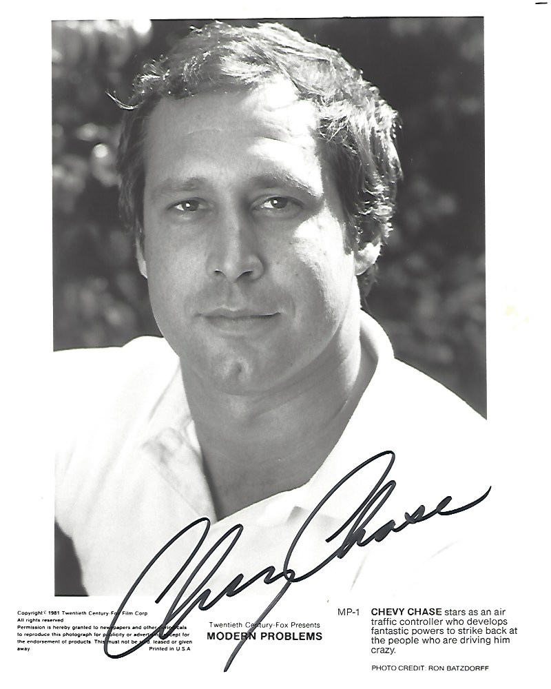 Chevy Chase As Max Fielder In The 1981 Movie