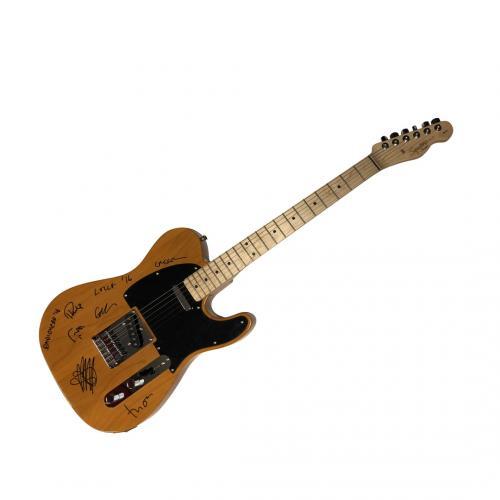 Radiohead Autographed Fender Guitar PSA LOA RACC TS AFTAL UACC RD