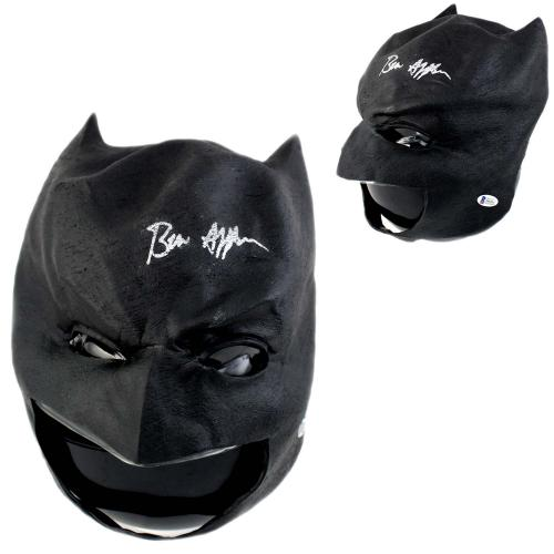 Ben Affleck Signed Batman Black Mask