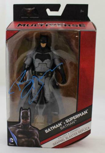 Ben Affleck Autographed/Signed Batman DC Comics Action Figure BAS 21510