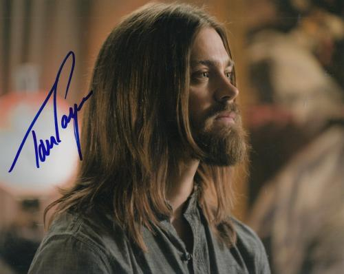 "TOM PAYNE signed (THE WALKING DEAD) TWD 8X10 photo ""PROOF"" PAUL JESUS W/COA #3"