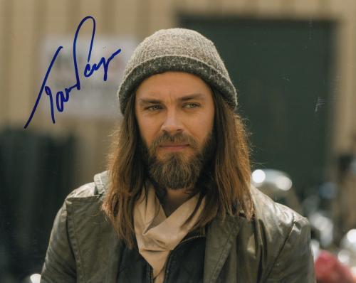 """TOM PAYNE signed (THE WALKING DEAD) TWD 8X10 photo """"PROOF"""" PAUL JESUS W/COA #6"""