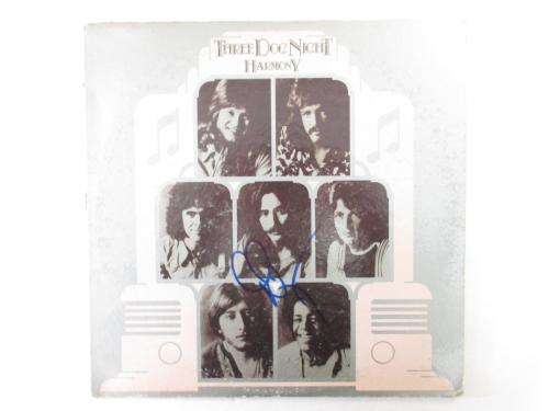 Three Dog Night Memorabilia: Autographed Albums & Signed Instruments