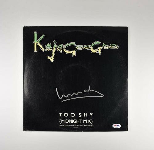 Limahl KajaGooGoo Autographed Signed Album LP Record Certified PSA/DNA COA