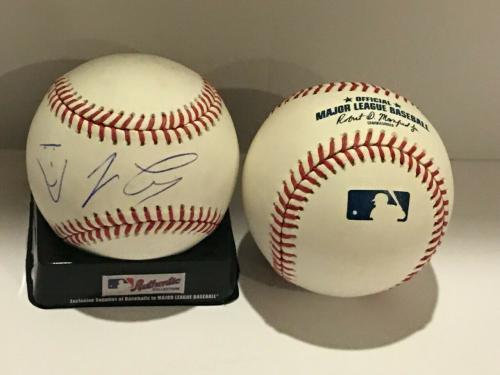 Jay Leno Signed Official Major League Baseball The Tonight Show Late Night Proof