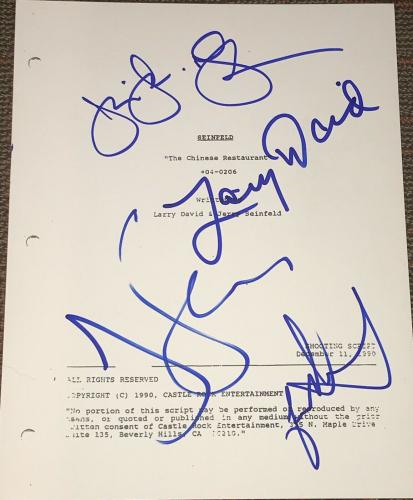 Autographed Jerry Seinfeld Memorabilia: Signed Photos & Other Items