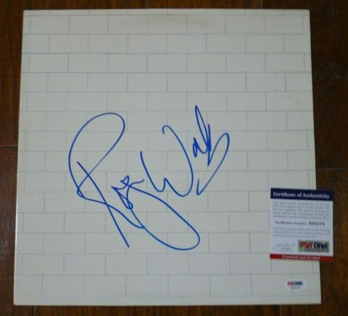 Roger Waters Pink The Wall Autographed Signed LP Record Album PSA Certified