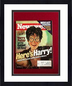 "2000, Harry Potter, ""Newsweek"" Magazine (Scarce) Vintage"