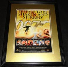 2000 James Bond 007 11x14 Framed ORIGINAL Vintage Advertisement