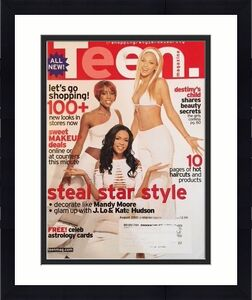 "2001, Beyonce, ""Teen"" Magazine (Destiny's Child)"