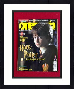 "2001, Harry Potter, ""Cinemania"" Magazine (No Label) Scarce (Early Cover)"