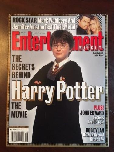 "2001, Harry Potter, ""Entertainment Weekly"" Magazine (No Label) Newsstand Ed."