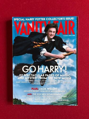 "2001, Harry Potter, ""VANITY FAIR"" Magazine (No Label) Scarce"