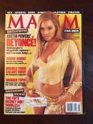 """2002, Beyonce, """"MAXIM"""" Magazine (Early Cover)"""