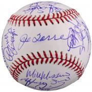 2002 New York Yankees Autographed Baseball - PSA/DNA