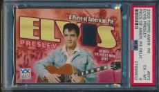 2002 Topps American Pie Elvis Presley Piece Of Relic Jacket Psa 6 #27898832