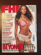 """2003, Beyonce, """"FHM"""" Magazine (No Label) Early Cover"""