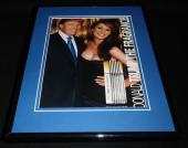 2004 Donald Trump The Fragrance w/ Melania Framed 11x14 ORIGINAL Advertisement