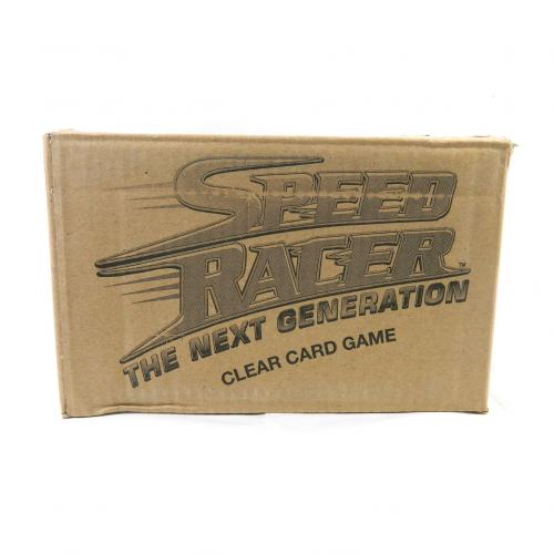 2004 PGM Speed Racer Classic and The Next Generation Trading Card Case (10 Box)