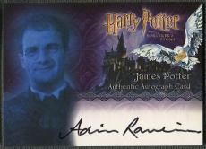 2005 Harry Potter and the Sorcerer's Stone Adrian Rawlins as James Potter Auto
