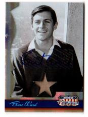 2007 Burt Ward Donruss Americana Autographed-signed Batman Relic Card #24/100