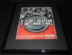 2007 Celestion Loudspeaker Framed 11x14 ORIGINAL Vintage Advertisement Slash