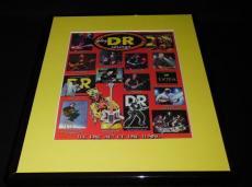 2007 DR Strings Framed 11x14 ORIGINAL Advertisement Trey Anastasio Sting U2